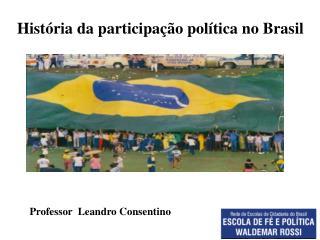 História da participação política no Brasil