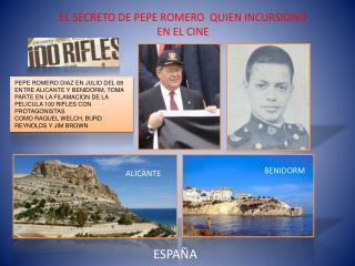 PEPE ROMERO DIAZ EN  JULIO DEL  68 ENTRE ALICANTE Y  BENIDORM,  TOMA PARTE EN LA FILAMACION DE LA
