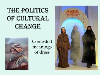 The politics of cultural change