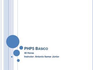 PHP5 Básico
