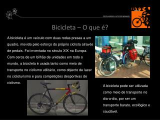 Bicicleta – O que é?