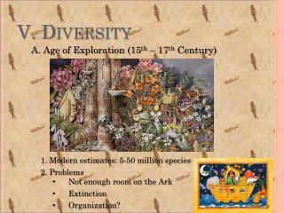 V. Diversity