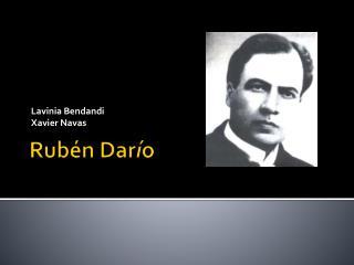 Rubén  Dar í o