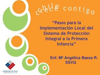 """""""Pasos para la Implementación Local del Sistema de Protección Integral a la Primera Infancia"""""""