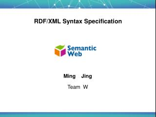 RDF/XML Syntax Specification
