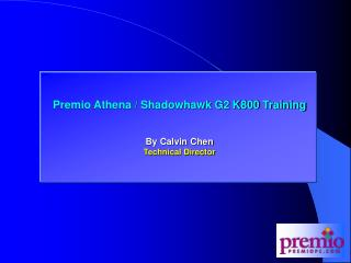 Premio K800 Training
