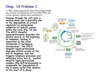 Chap. 19 Problem 1