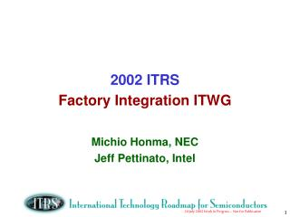 2002 ITRS Factory Integration ITWG