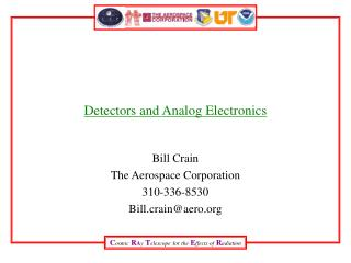 Detectors and Analog Electronics