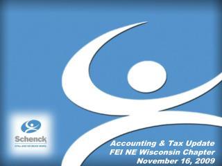 Accounting & Tax Update FEI NE Wisconsin Chapter November 16, 2009