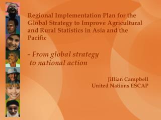 Jillian Campbell United Nations ESCAP