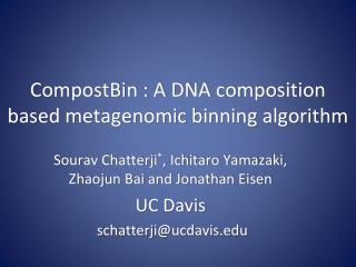 CompostBin  : A DNA composition based metagenomic binning algorithm