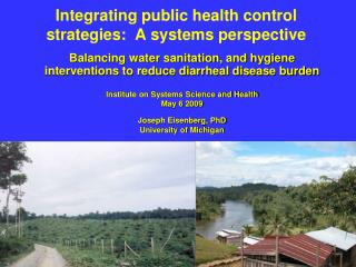 Integrating public health control strategies:  A systems perspective