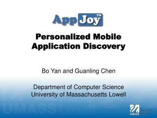 Personalized Mobile Application Discovery