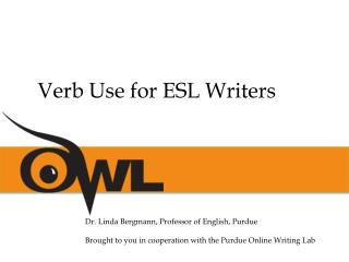 Verb Use for ESL Writers