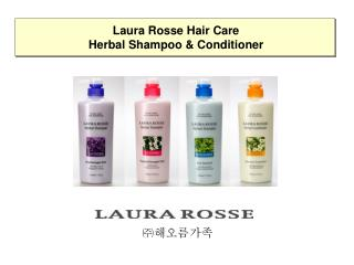 Laura Rosse Hair Care Herbal Shampoo & Conditioner