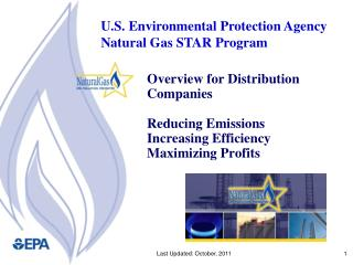 Overview for Distribution Companies  Reducing Emissions  Increasing Efficiency Maximizing Profits