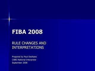 FIBA 2008