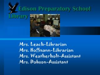 Edison Preparatory School Library