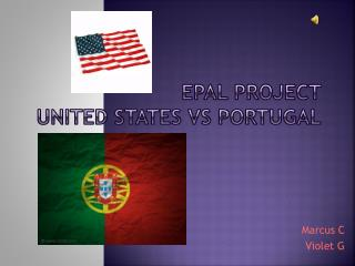Epal Project United States vs Portugal