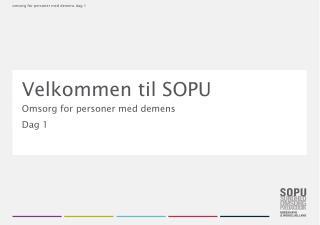 Velkommen til SOPU