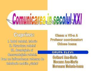 Comunicarea in secolul XXI