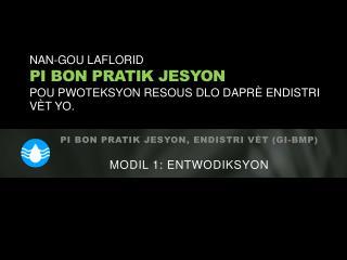 Nan-Gou  Laflorid Pi bon  pratik jesyon Pou pwoteksyon resous dlo daprè endistri vèt yo .