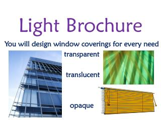 Light Brochure