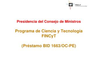 PROYECTOS DE INNOVACION TECNOLOGICA