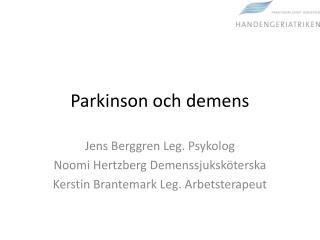 Parkinson och demens