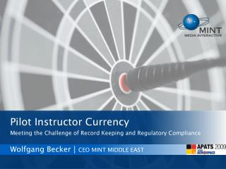 Wolfgang Becker│ CEO MINT MIDDLE EAST