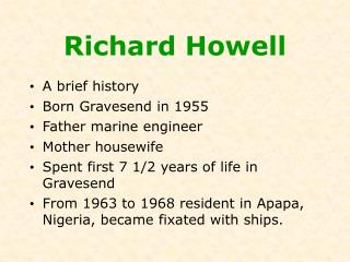 Richard Howell