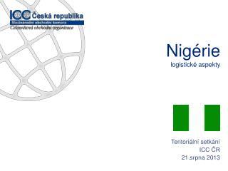 Nigérie logistické aspekty