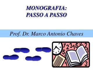 MONOGRAFIA: PASSO A PASSO