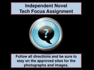 Independent Novel Tech  Focus Assignment