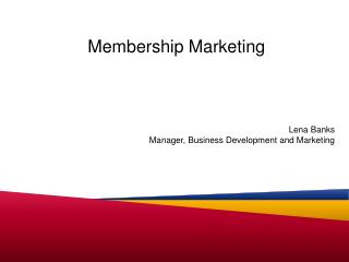 Membership Marketing