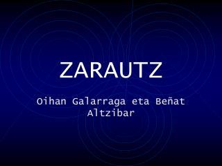 ZARAUTZ
