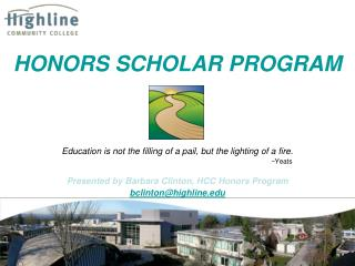 HONORS SCHOLAR PROGRAM