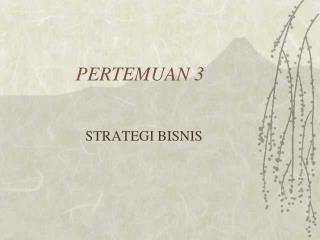 PERTEMUAN 3