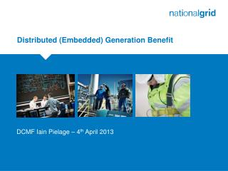 Distributed (Embedded) Generation Benefit