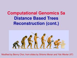 Computational Genomics 5a  Distance Based Trees Reconstruction (cont.)