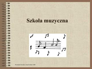 Szkola muzyczna
