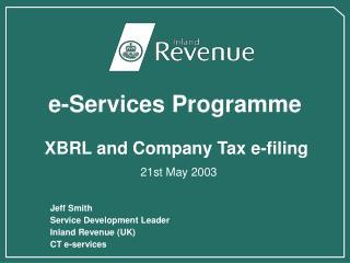 e-Services Programme