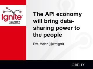 The API economy will bring data-sharing power to the people
