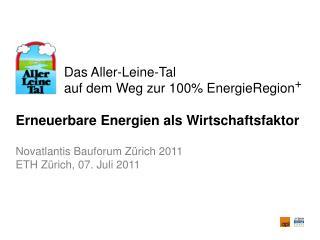 Das Aller-Leine-Tal              auf dem Weg zur 100% EnergieRegion +
