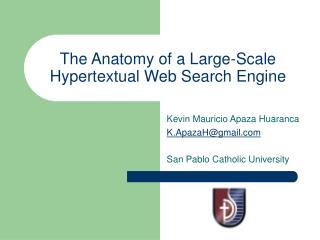 The Anatomy of a Large-Scale Hypertextual Web Search Engine