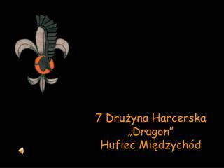 """7 Drużyna Harcerska """"Dragon"""" Hufiec Międzychód"""