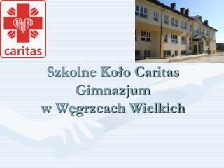 Szkolne Koło Caritas Gimnazjum  w Węgrzcach Wielkich