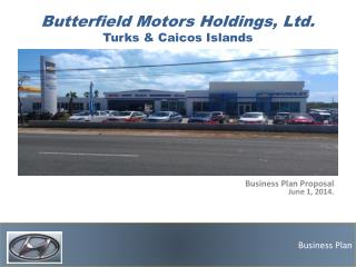 Butterfield Motors Holdings, Ltd. Turks  & Caicos  Islands
