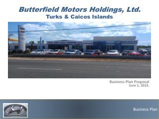 Butterfield Motors Holdings, Ltd. Turks  & Caicos  Islands